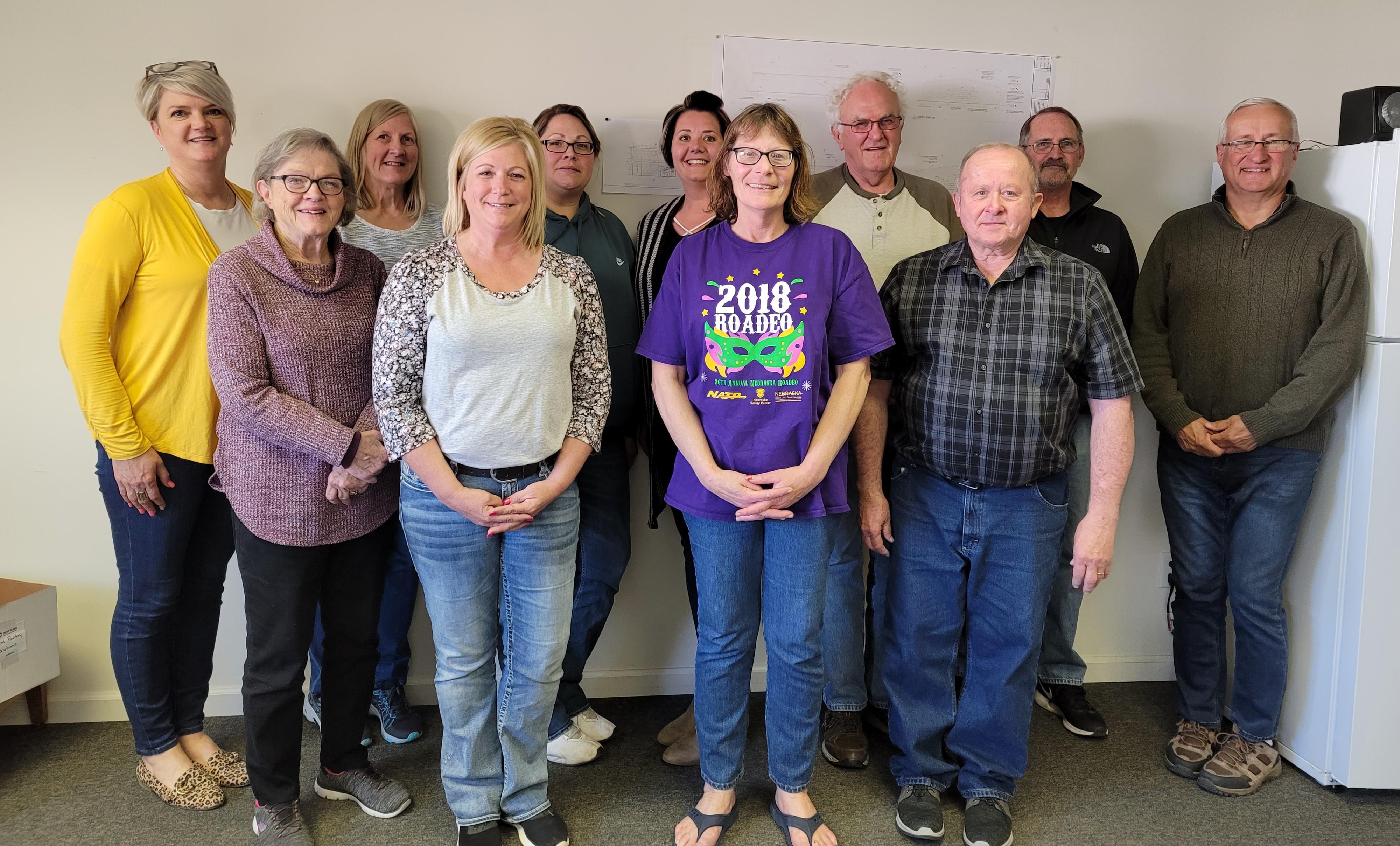 Cedar County Transit staff