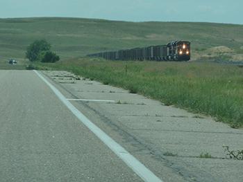 Nebraska train photo