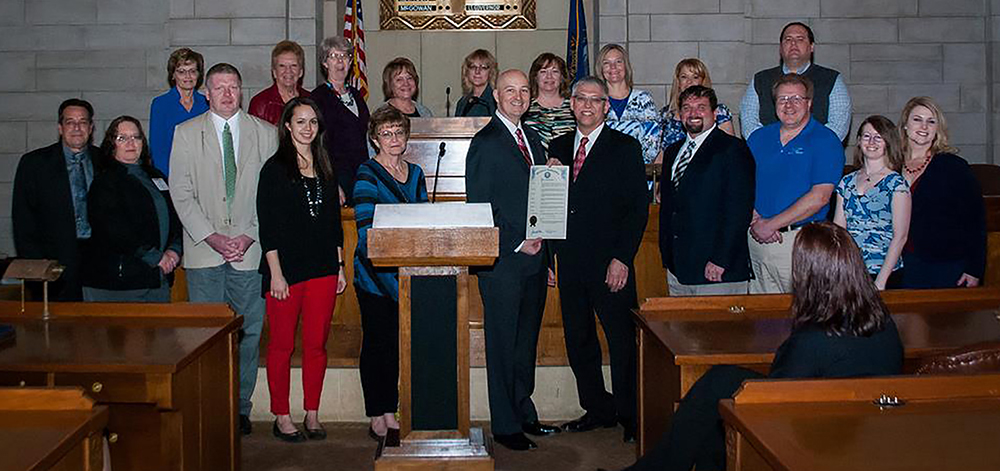 2016 Nebraska Public Transit Week Proclamation Signing photo