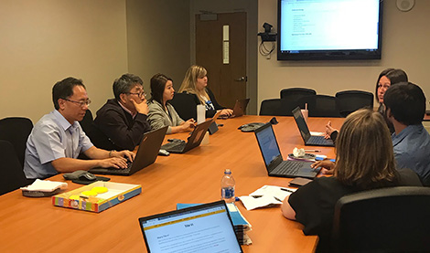 UNO Team website planning photo