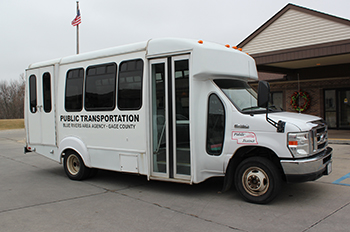 Blue Rivers Area Agency on Aging bus photo