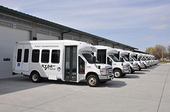RYDE Transit buses photo